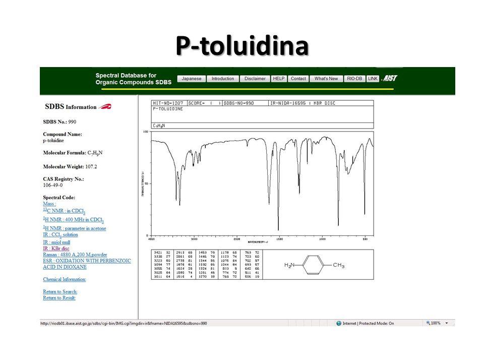 P-toluidina