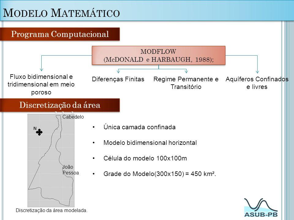 Modelo Matemático Programa Computacional