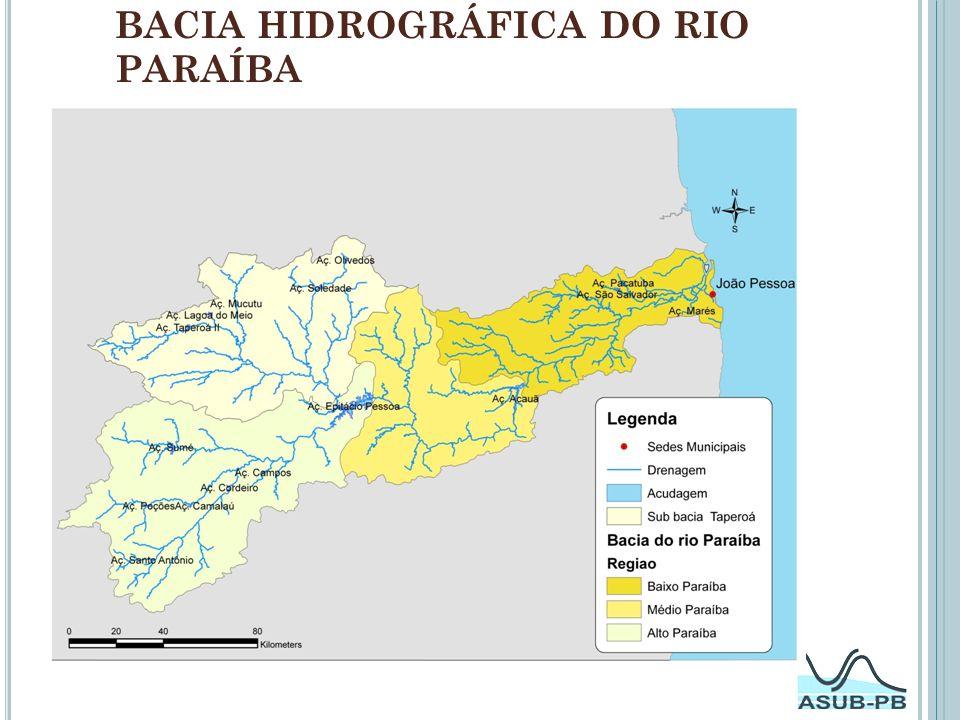 Bacia hidrográfica do rio Paraíba