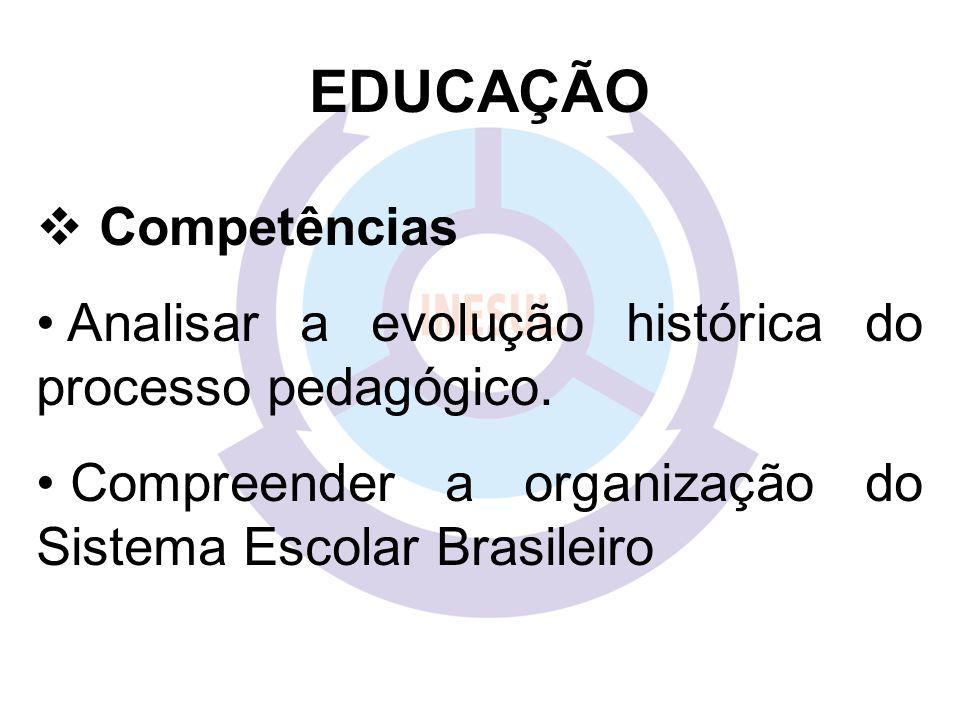 EDUCAÇÃO Competências