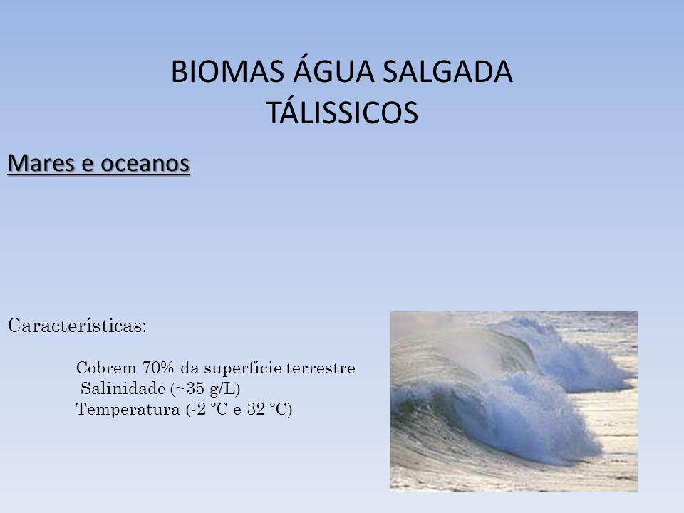 BIOMAS ÁGUA SALGADA TÁLISSICOS