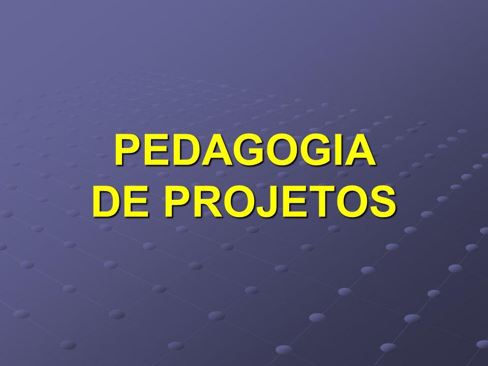 PEDAGOGIA DE PROJETOS