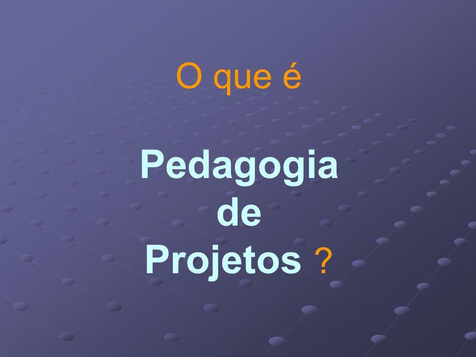 O que é Pedagogia de Projetos
