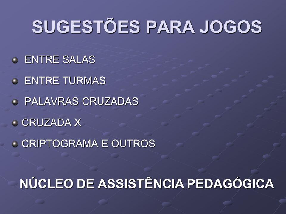 NÚCLEO DE ASSISTÊNCIA PEDAGÓGICA