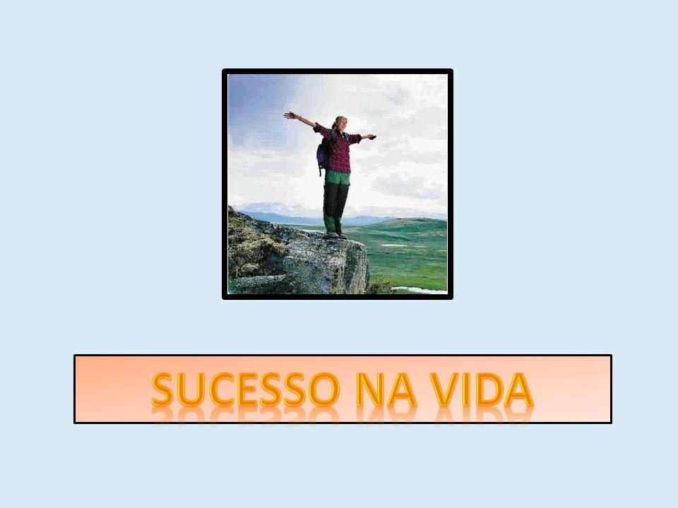Porém, temos certeza que no final, todos vocês poderão dizer que conseguiram o sucesso como pessoa.