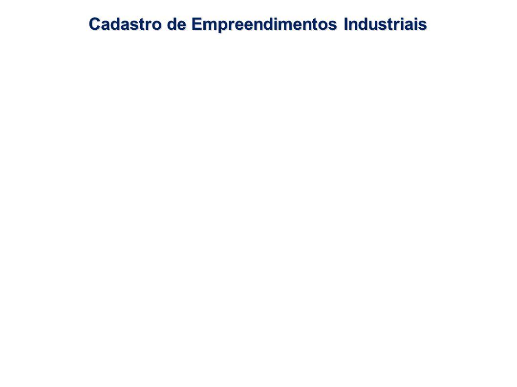 Cadastro de Empreendimentos Industriais