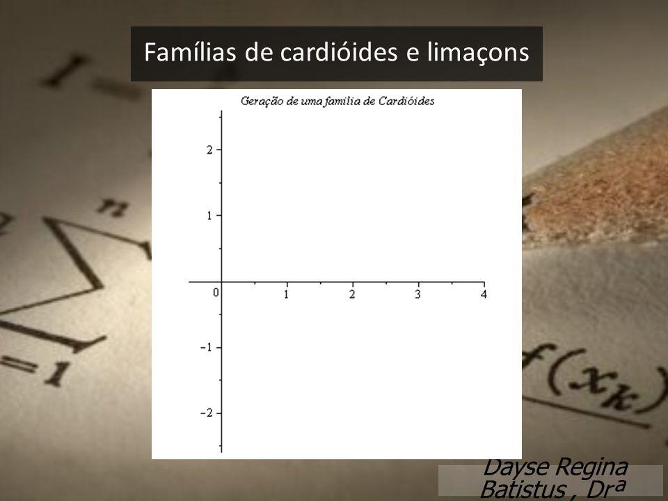 Famílias de cardióides e limaçons