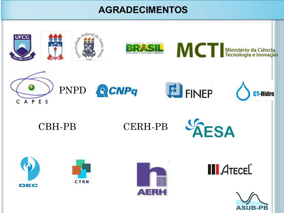AGRADECIMENTOS PNPD CBH-PB CERH-PB