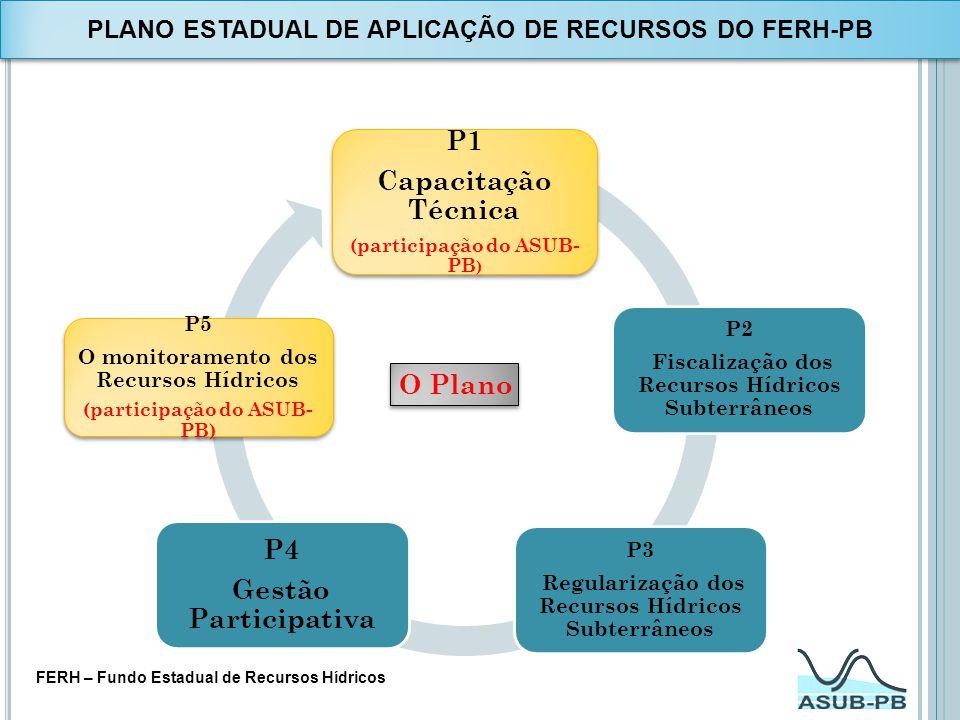 PLANO ESTADUAL DE APLICAÇÃO DE RECURSOS DO FERH-PB
