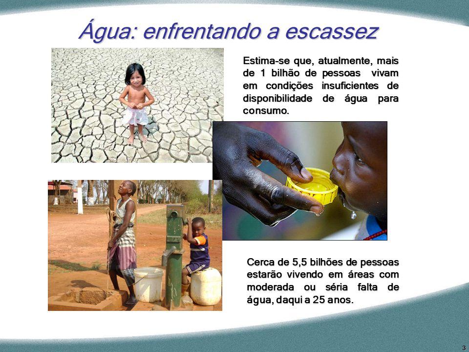 Água: enfrentando a escassez