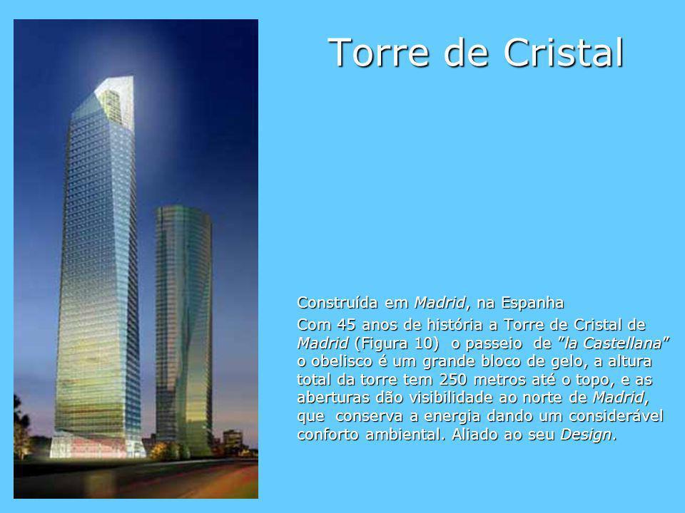 Torre de Cristal Construída em Madrid, na Espanha