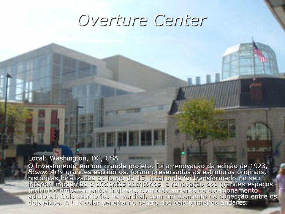 Overture Center Local: Washington, DC, USA