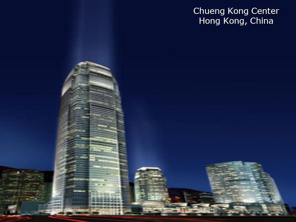 Chueng Kong Center Hong Kong, China