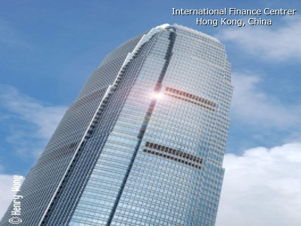 International Finance Centrer Hong Kong, China