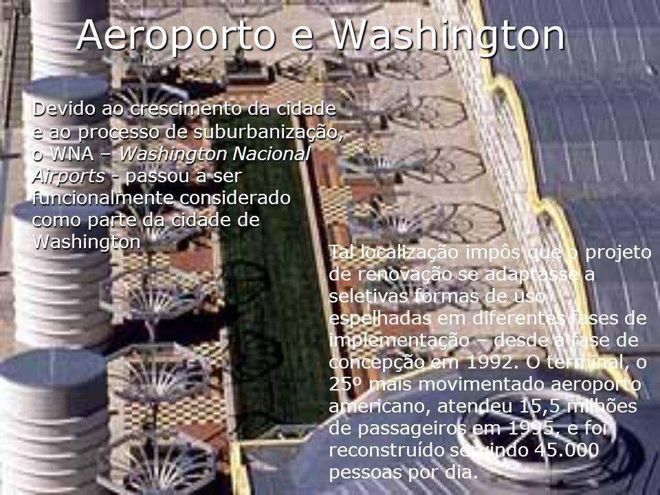 Aeroporto e Washington