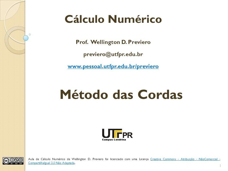 Prof. Wellington D. Previero