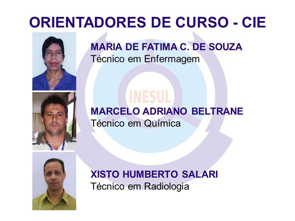 ORIENTADORES DE CURSO - CIE