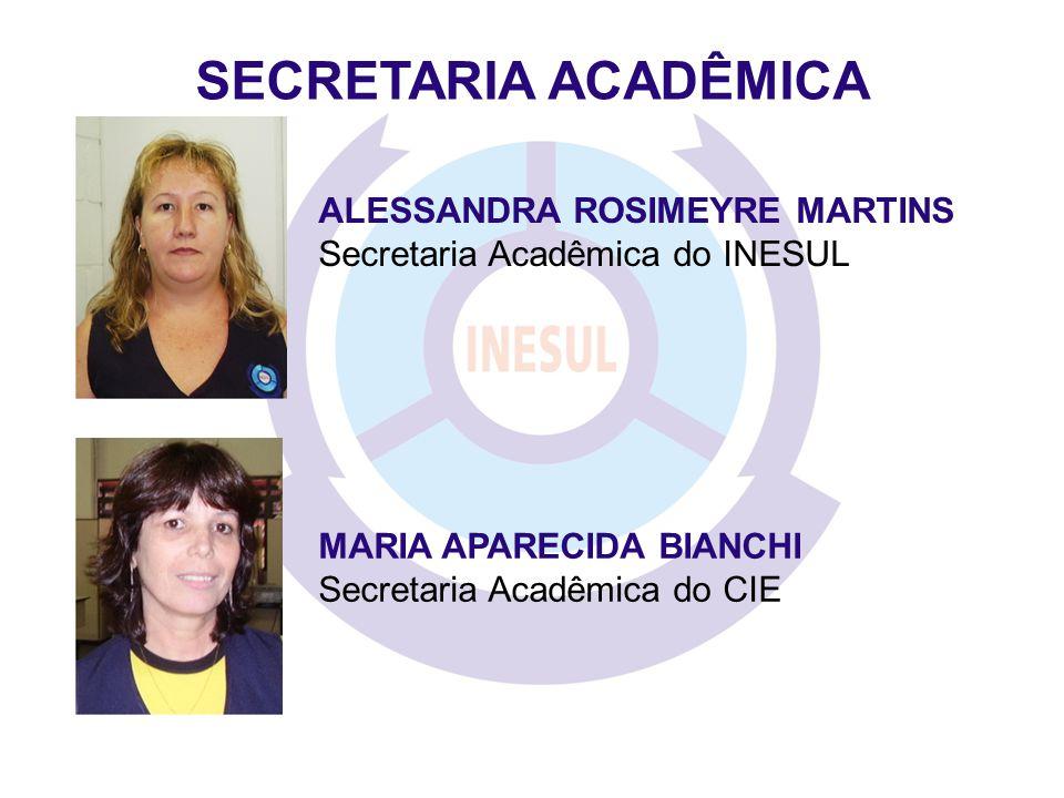 SECRETARIA ACADÊMICA ALESSANDRA ROSIMEYRE MARTINS
