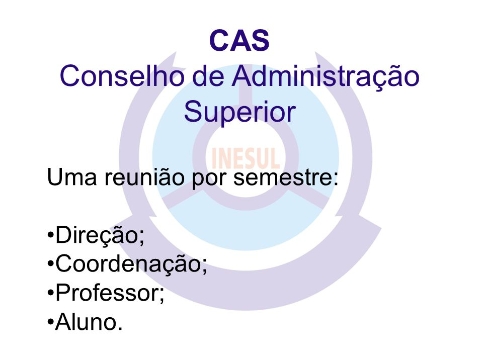 Conselho de Administração Superior