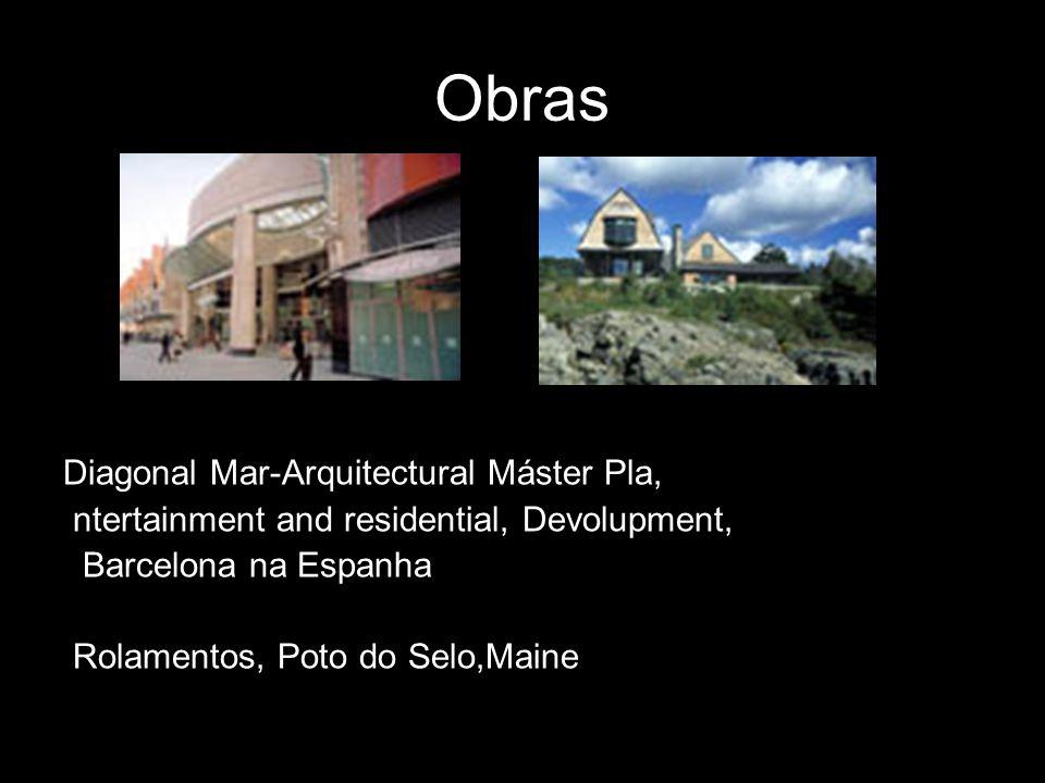 Obras Diagonal Mar-Arquitectural Máster Pla,