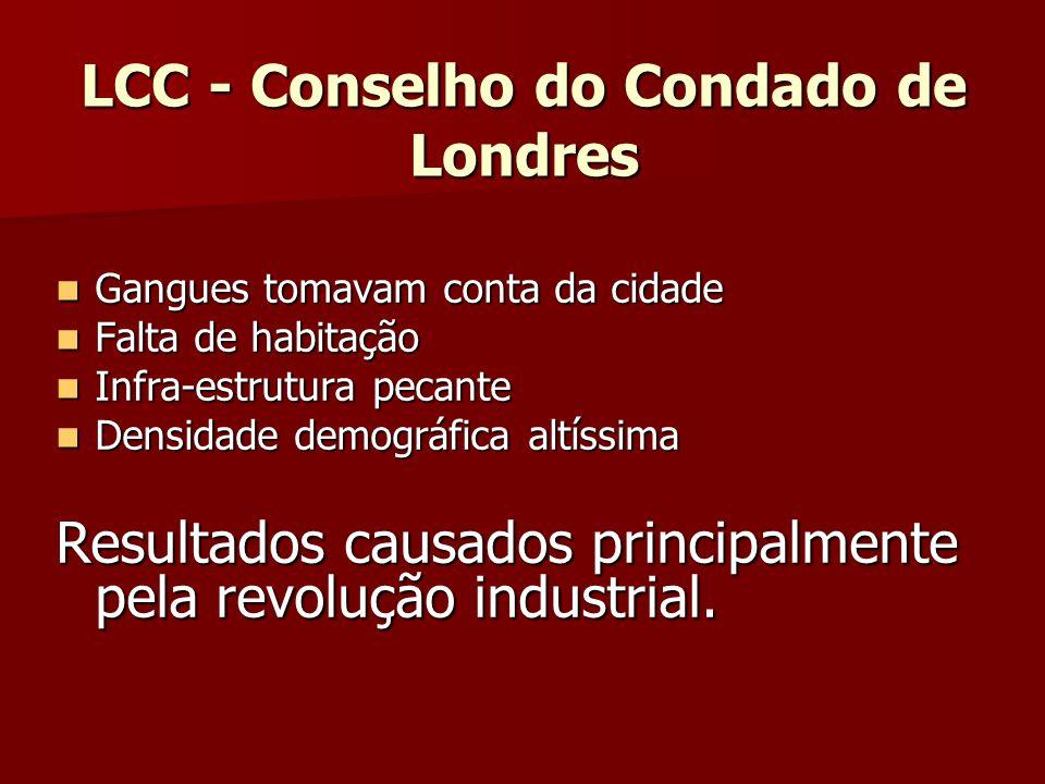 LCC - Conselho do Condado de Londres