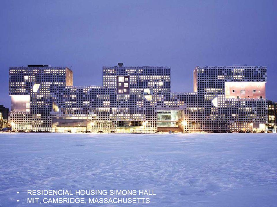 RESIDENCIAL HOUSING SIMONS HALL