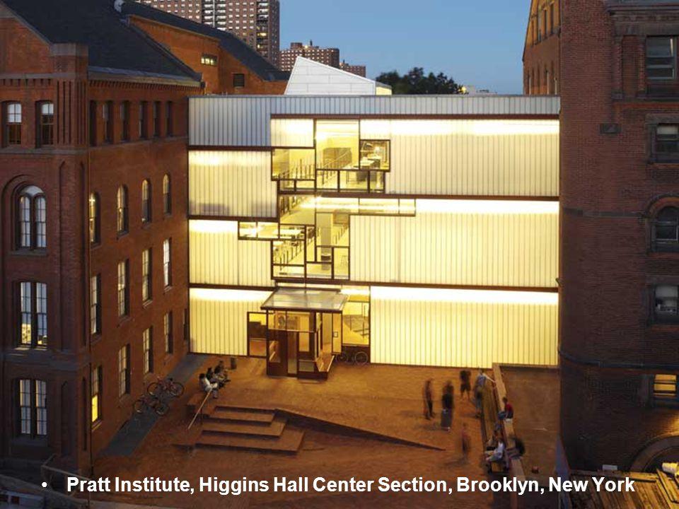 Pratt Institute, Higgins Hall Center Section, Brooklyn, New York
