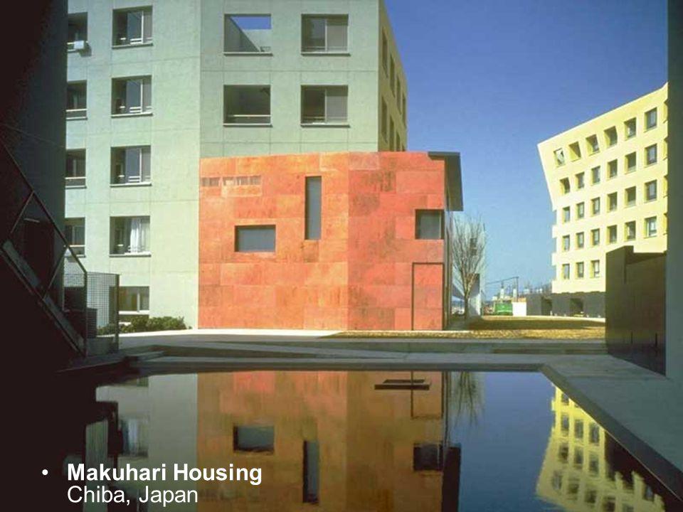 Makuhari Housing Chiba, Japan