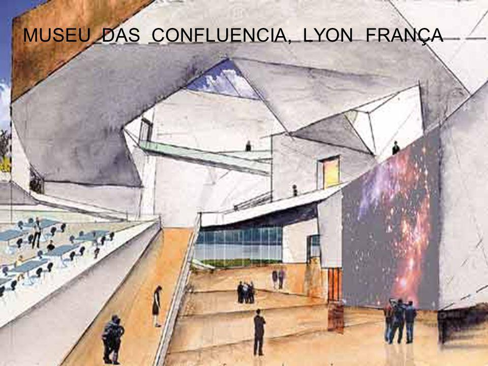 MUSEU DAS CONFLUENCIA, LYON FRANÇA
