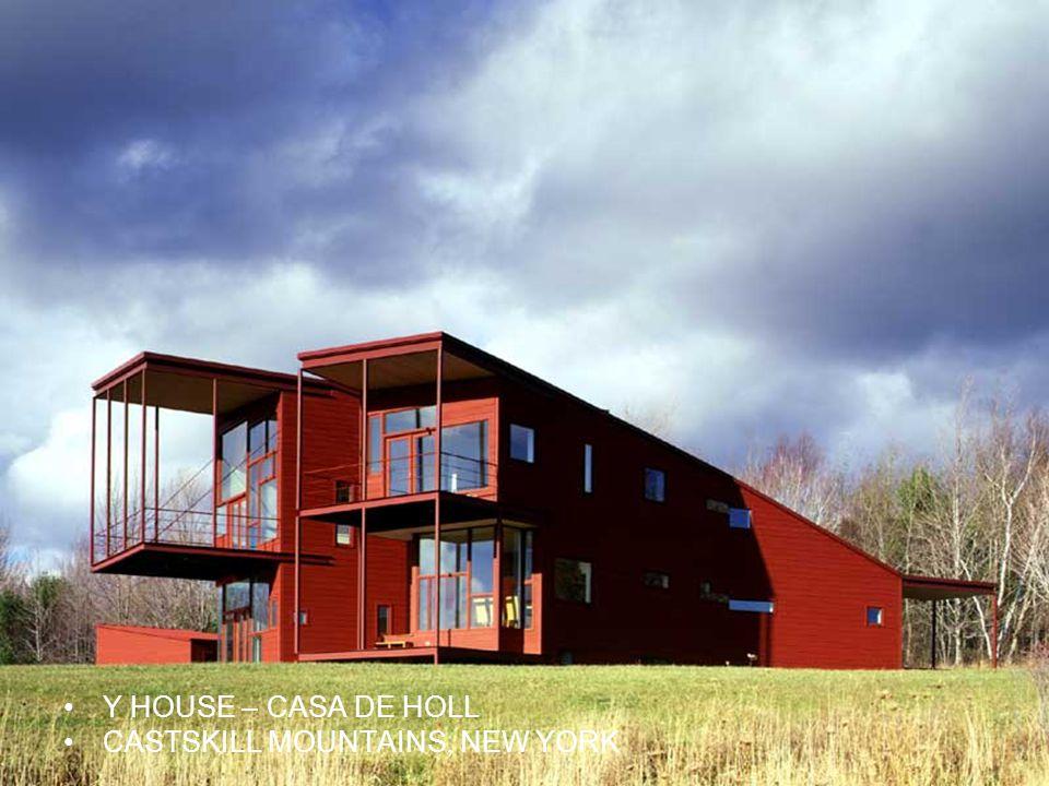 Y HOUSE – CASA DE HOLL CASTSKILL MOUNTAINS, NEW YORK