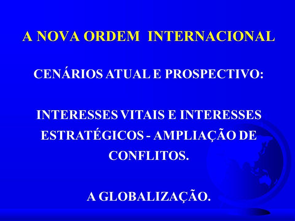 A NOVA ORDEM INTERNACIONAL