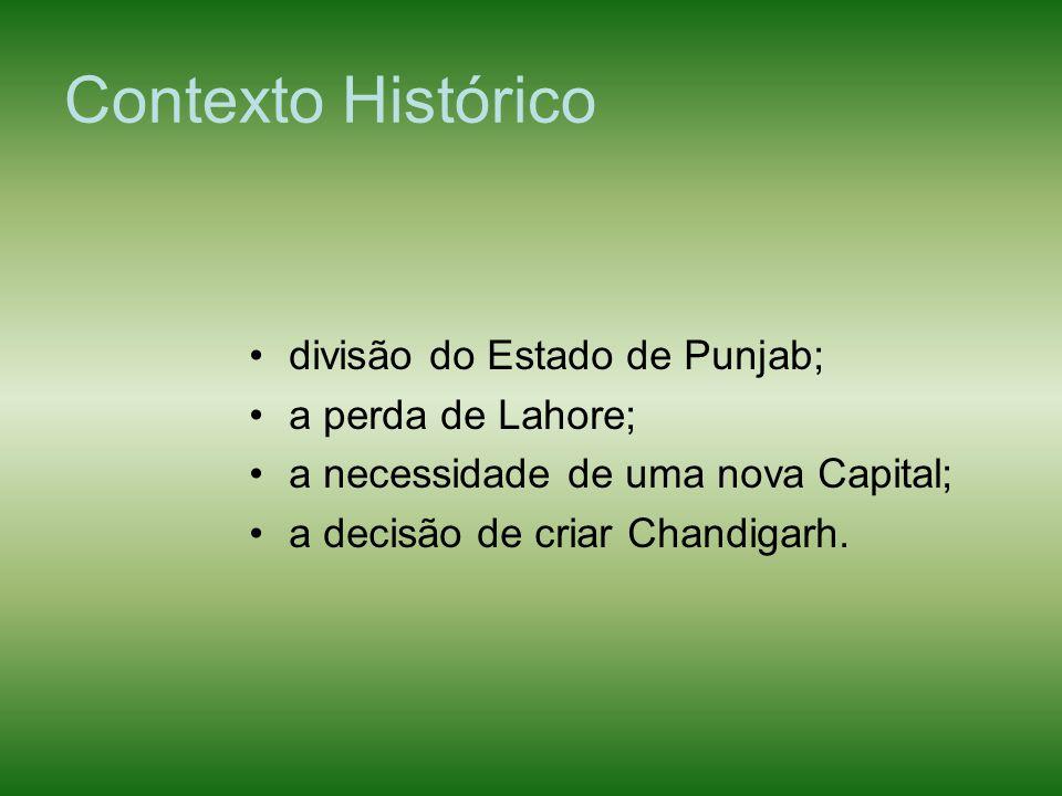 Contexto Histórico divisão do Estado de Punjab; a perda de Lahore;