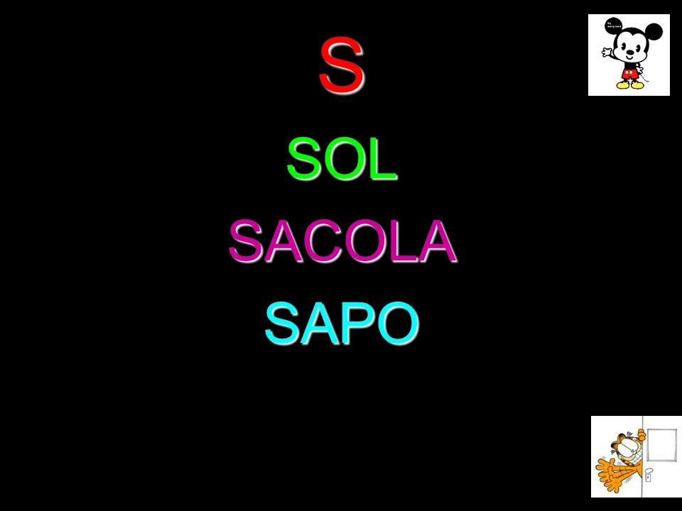 S SOL SACOLA SAPO