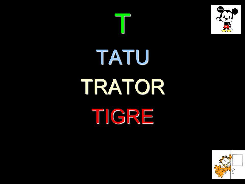 T TATU TRATOR TIGRE