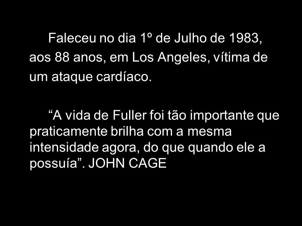 Faleceu no dia 1º de Julho de 1983,