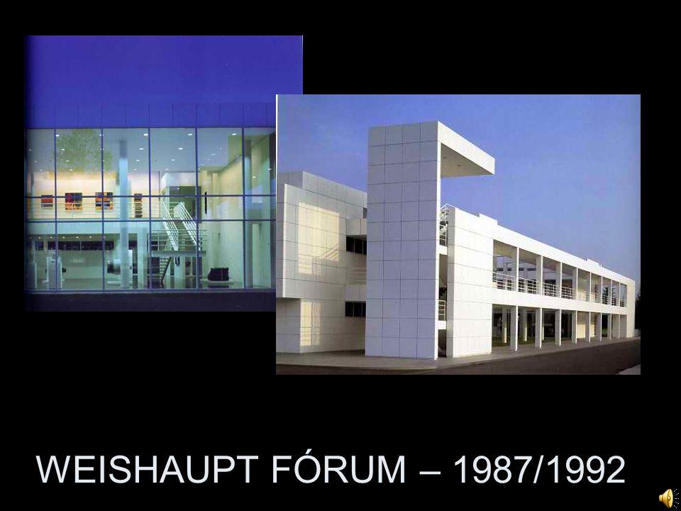 WEISHAUPT FÓRUM – 1987/1992