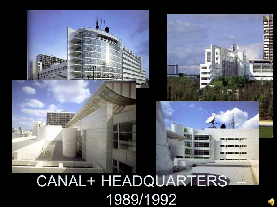 CANAL+ HEADQUARTERS – 1989/1992