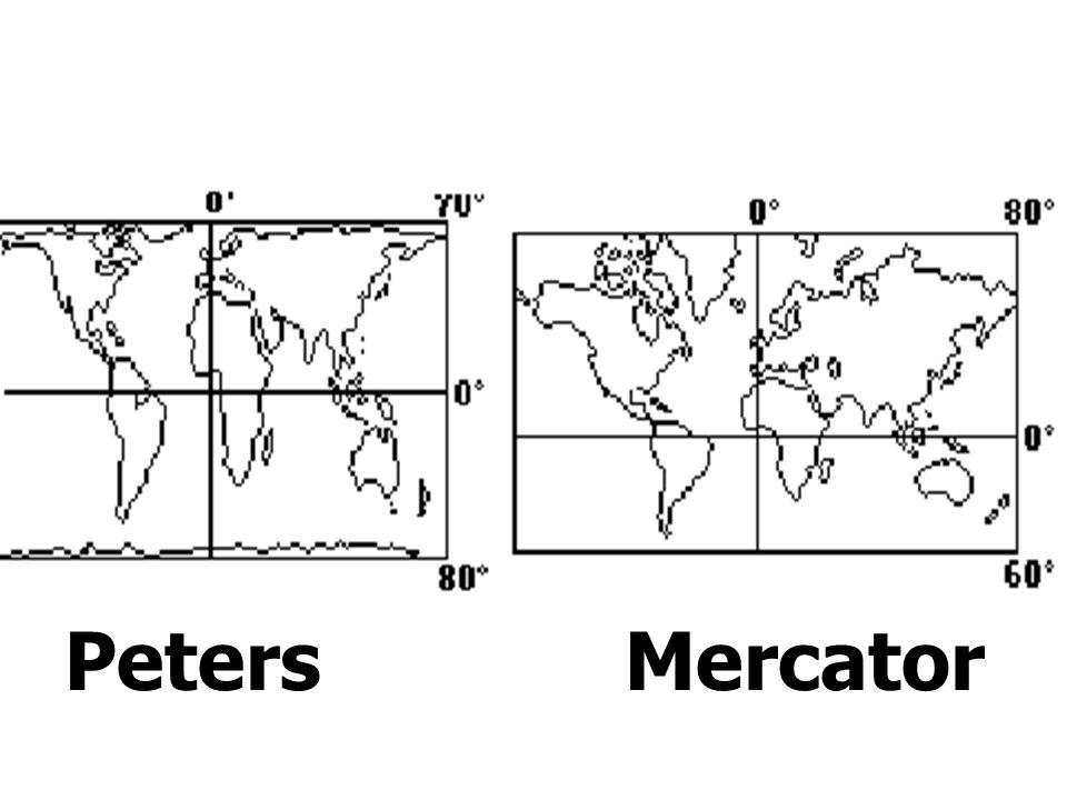 Peters Mercator