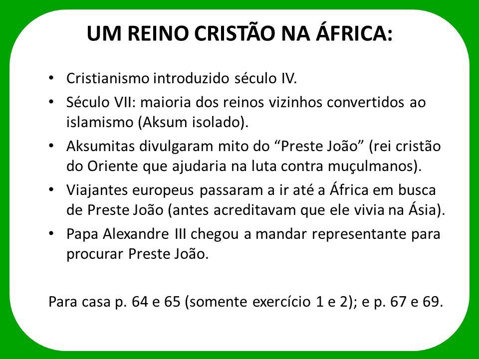 UM REINO CRISTÃO NA ÁFRICA: