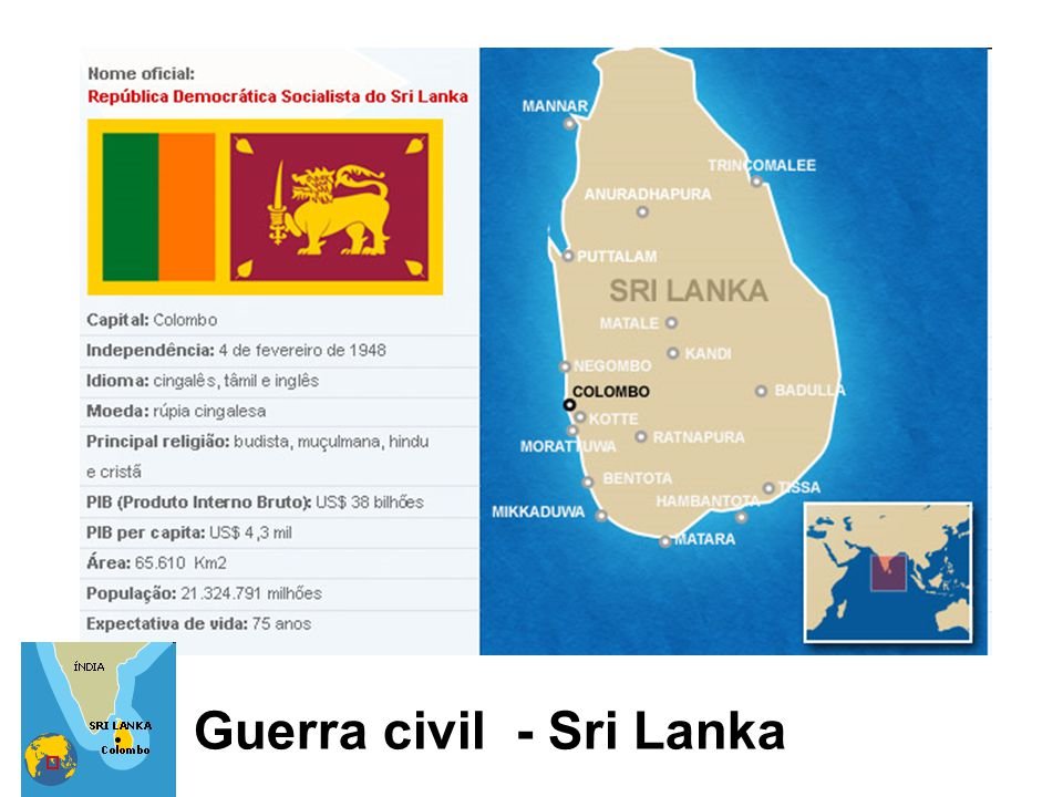 Guerra civil - Sri Lanka