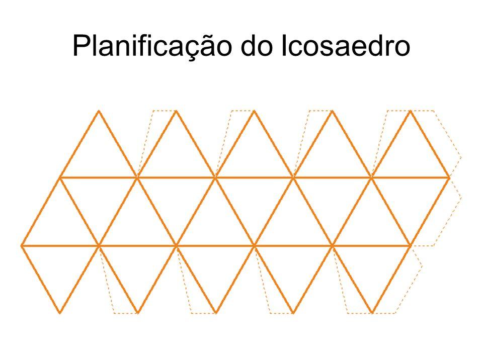 Planificação do Icosaedro