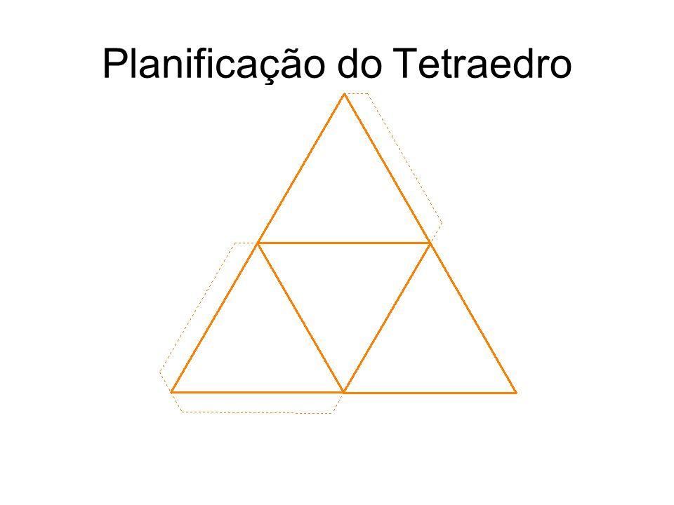 Planificação do Tetraedro