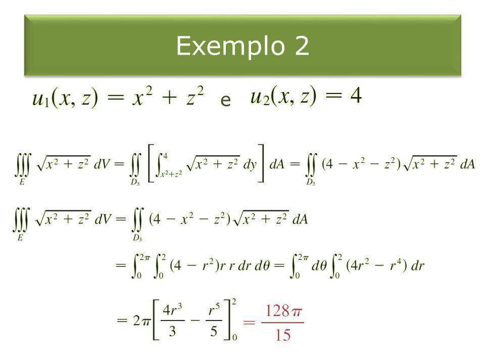 Exemplo 2 e