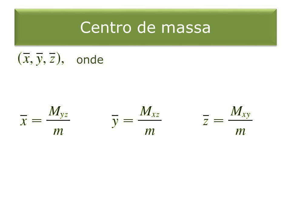 Centro de massa onde