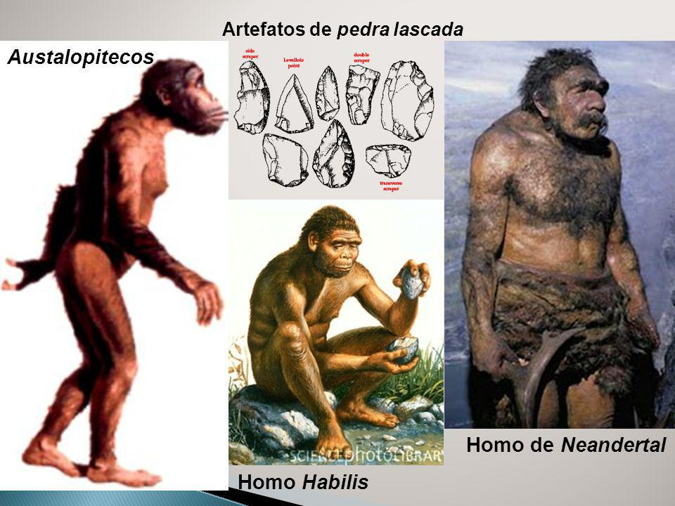 Austalopitecos Homo de Neandertal Homo Habilis