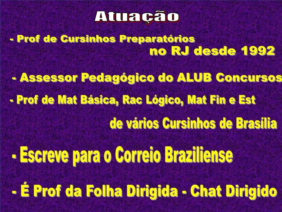 - Assessor Pedagógico do ALUB Concursos