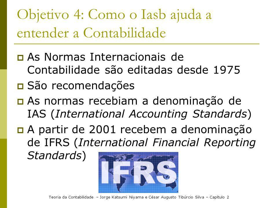 Objetivo 4: Como o Iasb ajuda a entender a Contabilidade