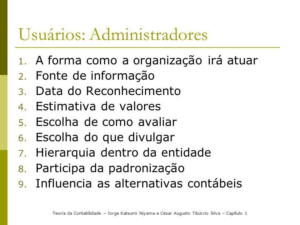 Usuários: Administradores