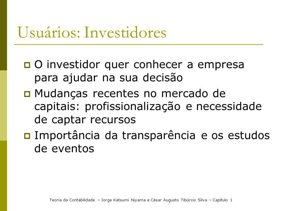 Usuários: Investidores
