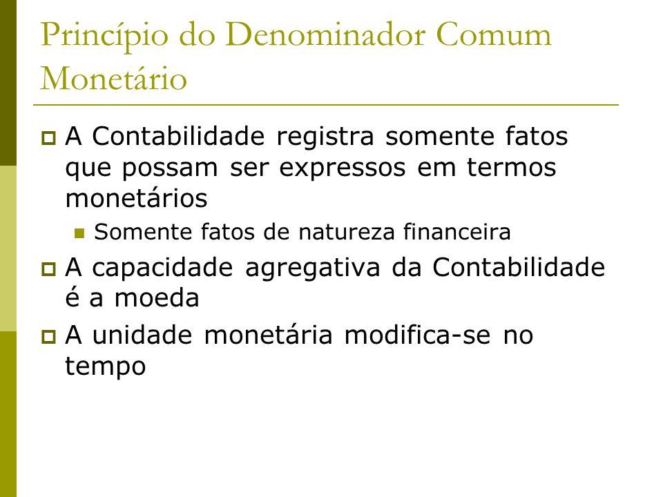Princípio do Denominador Comum Monetário